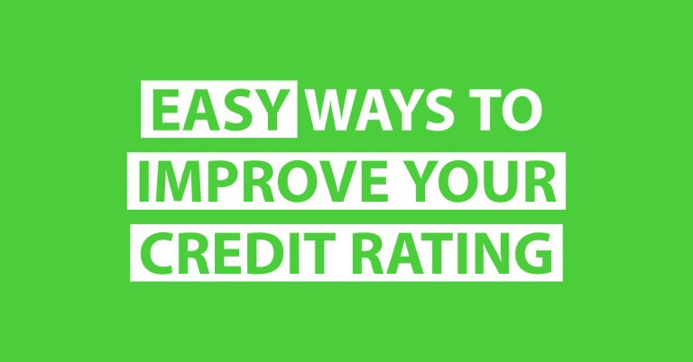 how to improve my credit rating