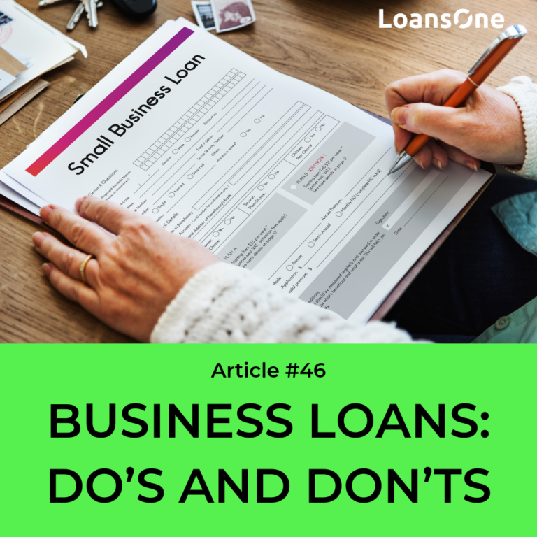 business loan advice