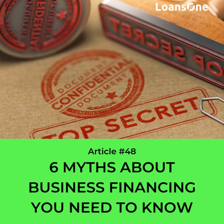 business finance myths