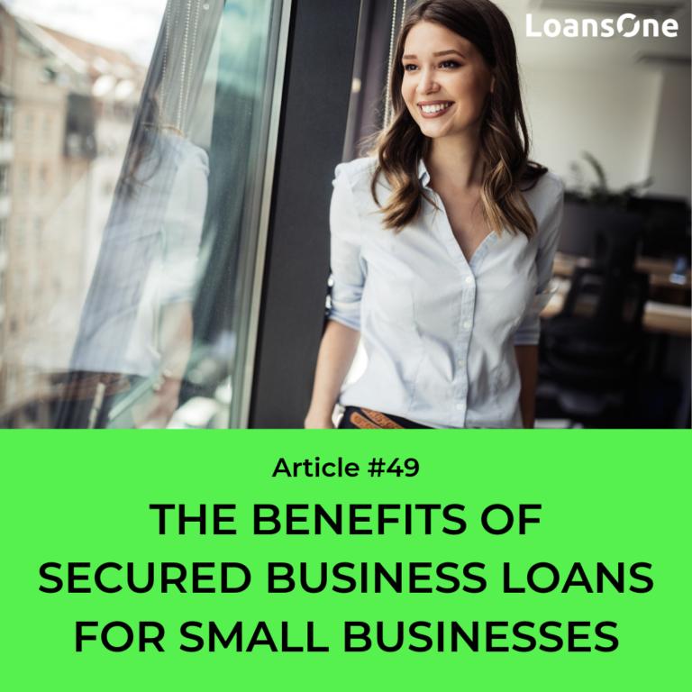 secured business loan