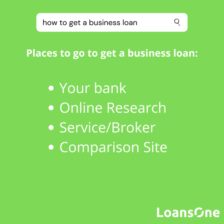 Places to go to get a business loan